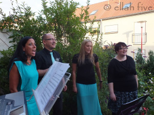 ELLAH FIVE 2015 - Auftritt bei einer privaten Geburtstagsfeier