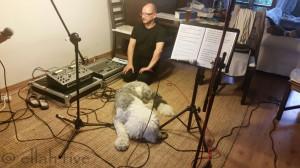 """ELLAH FIVE 2015 - """"Soundcheck"""" für den kommenden Auftritt in Potsdam"""
